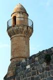 Une tour de mosquée Image libre de droits