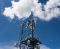 Une tour de télécommunication dans le Colorado Photos stock