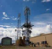 Une tour de télécommunication dans le Colorado Photographie stock