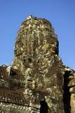 Une tour de temple de Bayon dans Angkor photo libre de droits