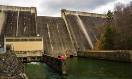 Une toute la vue du barrage de lac Philpott - 2 photographie stock libre de droits