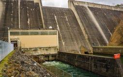 Une toute la vue du barrage de lac Philpott - 3 images stock