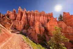 Une traînée en Bryce Canyon National Park en Utah, Etats-Unis image stock