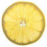 Une tranche de citron Images stock