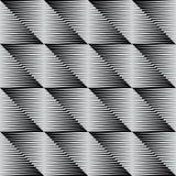 Une tuile carrée géométrique élégante Images libres de droits