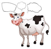 Une vache de sourire Photographie stock