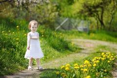 Une verticale de fille fâchée d'enfant en bas âge Photos stock