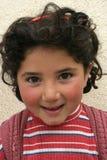 Une verticale de petite fille photos libres de droits