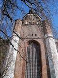 Une vieille cathédrale Stralsund Images libres de droits