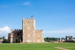 Une vieille forteresse en République Dominicaine  Photo stock