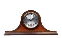 Une vieille horloge de manteau Photo stock