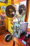 Une vieille machine de film Photos stock