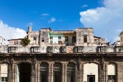 Une vieille maison ruinée Photo libre de droits