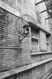 Une vieille usine dans Guangzhou Image libre de droits
