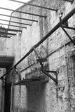 Une vieille usine dans Guangzhou Photographie stock libre de droits