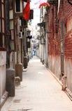 Une vieille voie en Chine Images libres de droits