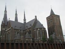 Une vieilles église et tour historiques dans Cuijk, Pays-Bas images stock