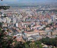 Une ville étonnante en Transylvanie Photos stock