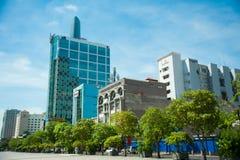 Une ville de marche dans Saigon, Ho Chi Minh City Vietnam Images stock