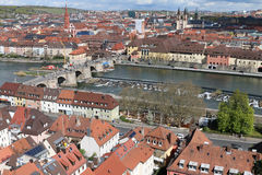 Une ville en Allemagne Photos libres de droits