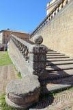 Une visite à la villa Farnese en italien Palazzo Farnese, une Renaissance massive et le Mannerist Image libre de droits