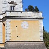 Une visite à la villa Farnese en italien Palazzo Farnese, une Renaissance massive et le Mannerist Photo stock