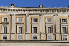 Une visite à la villa Farnese en italien Palazzo Farnese, une Renaissance massive et le Mannerist Images stock