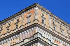 Une visite à la villa Farnese en italien Palazzo Farnese, une Renaissance massive et le Mannerist Photos libres de droits