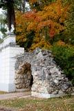 Une voûte d'automne Image stock