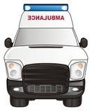 Une voiture d'ambulance illustration libre de droits