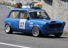Une voiture de rassemblement de 112 Abarth Image stock