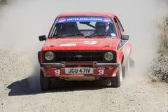 Une voiture de rassemblement de Mkii Ford Escort images stock