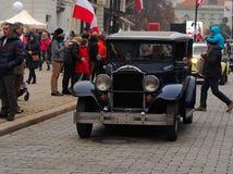Une voiture pour l'indépendance photo stock