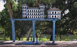Une volière au Cuba Varadero photographie stock