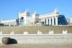 Une vue à Astana photographie stock libre de droits