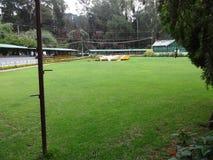 Une vue étroite de jardin indien de jardin ooty, Inde ooty Images libres de droits