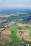 Une vue aérienne Image libre de droits