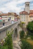 Une vue au-dessus de pont photo libre de droits