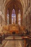 Une vue changée de l'autel image stock