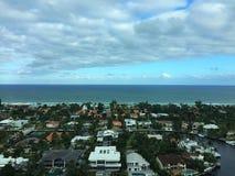 Une vue d'après-midi Photo stock