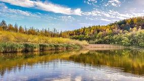 Une vue d'automne Photo libre de droits