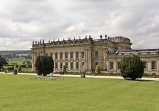 Une vue de Chambre de Chatsworth, Grande-Bretagne Photos libres de droits