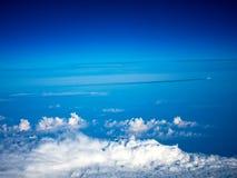 Une vue de ciel Photos libres de droits