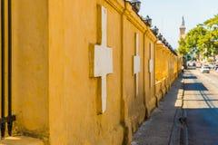 Une vue de cimetière de deux points à la Havane Cuba photographie stock libre de droits
