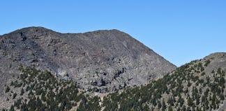 Une vue de crête de Humphreys, sommet du ` s de l'Arizona le plus haut Image libre de droits