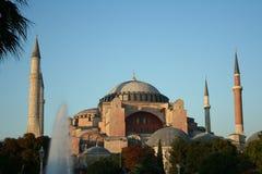 Une vue de Hagia Sophia Image stock