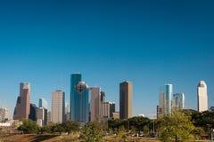 Une vue de Houston du centre images stock