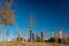 Une vue de Houston du centre images libres de droits