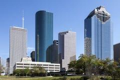 Houston du centre, le Texas photo libre de droits