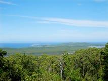 Une vue de l'admission de Nornalup et de la rivière de Frankland Photos stock